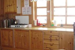 Kjøkkenet på B-92 - Foto: Ukjent