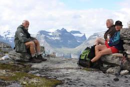 Giklingdalen på andre sida av Sunndalen - Foto: Marie Dybvik