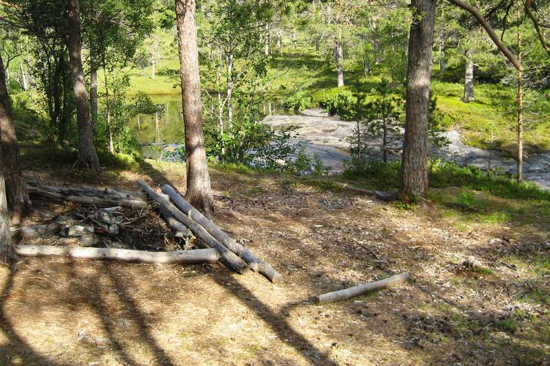 Plass for telting og båling