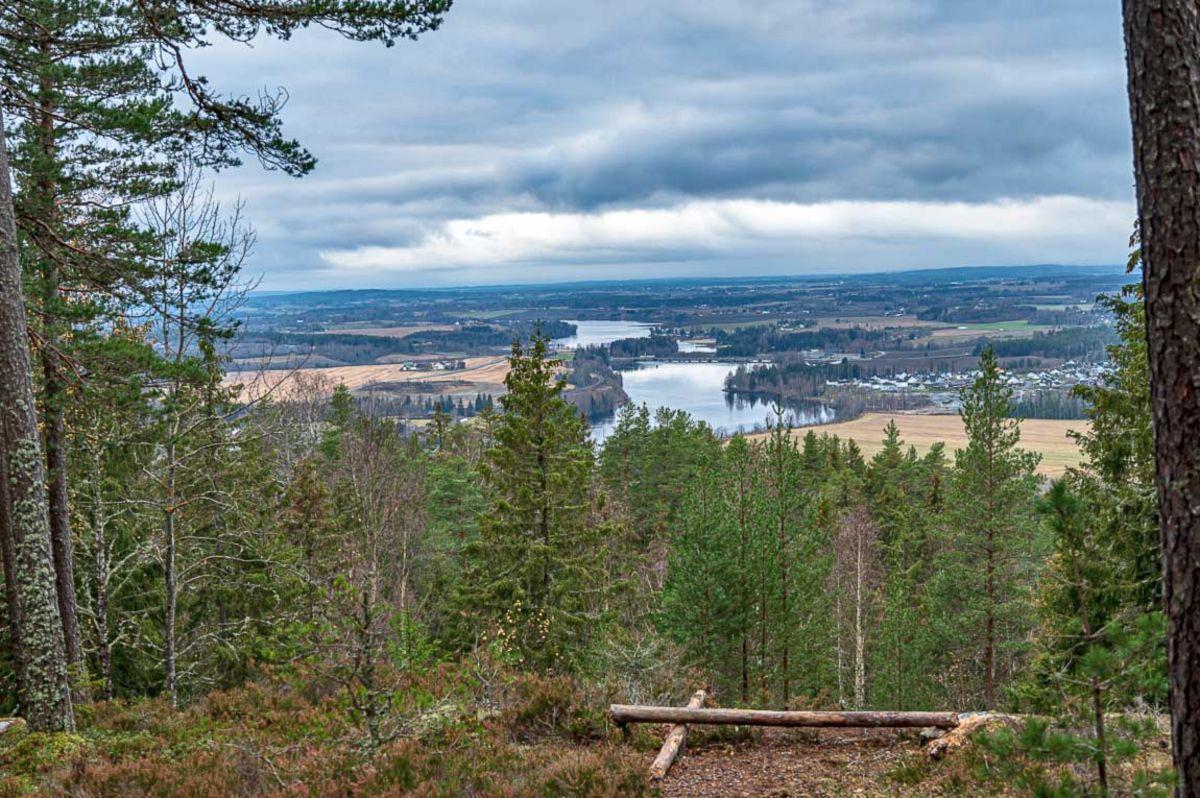 Utsikten fra Eievarden