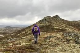 Snart på toppen - Foto: Nesbyen  turistkontor