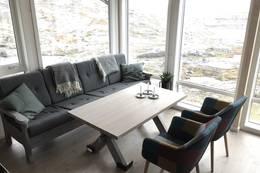 Sofagruppe med god utsikt - Foto: Kristian Jakobsen
