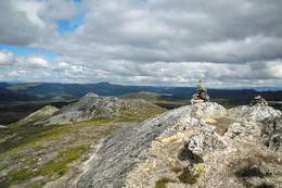 Utsyn fra toppen -  Foto: AAT