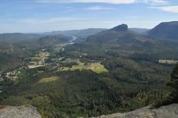 Utsikt mot Bø i Tørdal - Foto: Knut Åkredalen