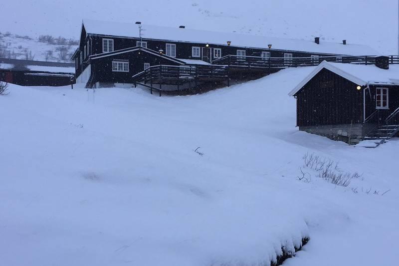 Vinter på Øvre Dørålseter
