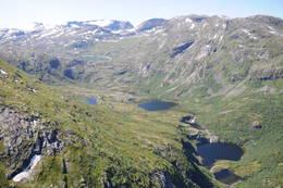Flybilde over den vakre Storkaldhusdalen - Foto: Sindre Nakken