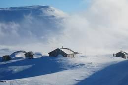 Vinter på Danskehytta - Foto: Gøril Bratteli Jamholt