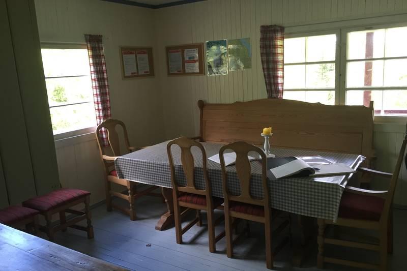 Kjøkken med langbord