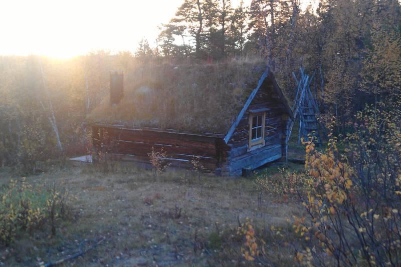 Åpen AN hytte