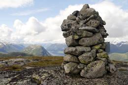 Varden på Kleivafjellet - Foto: Anne Cecilie Kapstad
