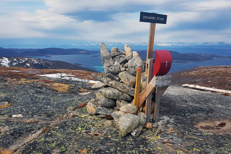 """Klippetanga for """"TI på topp i Hamarøy"""" for 2019."""