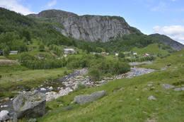 Skredå i Sirdal -  Foto: Odd Inge Worsøe