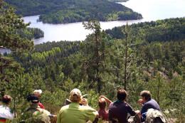 Utsikt over Farrisvann -  Foto: Kjell Ivar Brynsrud