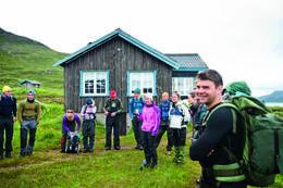 Torfinnfsbu er overnattingsbase for turen - Foto: Sindre Thoresen Lønnes