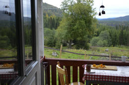 fra verandaen mot øst - Foto: