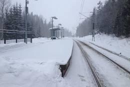 Gullhella stasjon - Foto: Anders Sten Nessem