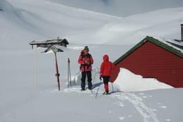 Ved Rappenstølen, tidligere overnattingssted for Bergen Turlag. Fint dagsturmål fra Selhamar. - Foto: Torill Refsdal Aase