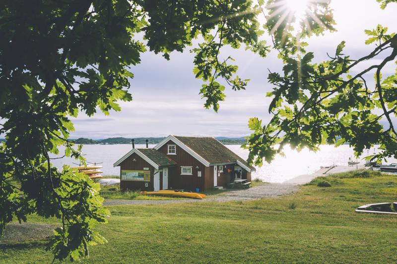 Sjøbua på Øitangen