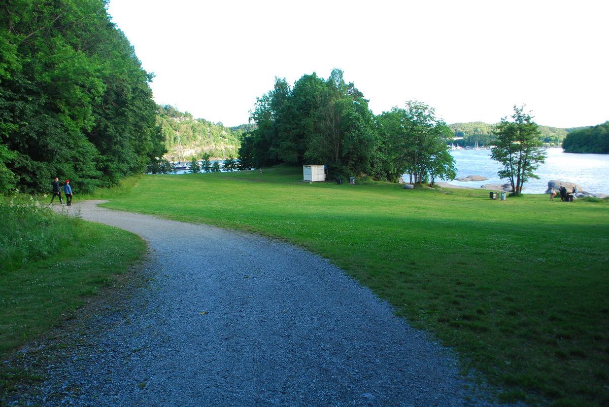 Breivoll friområde og badeplass.