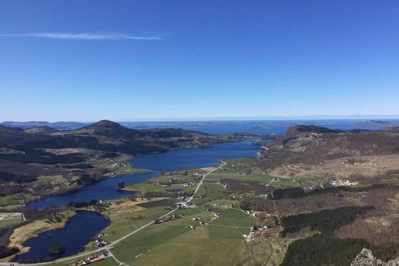 Utsikt fra Topphøna