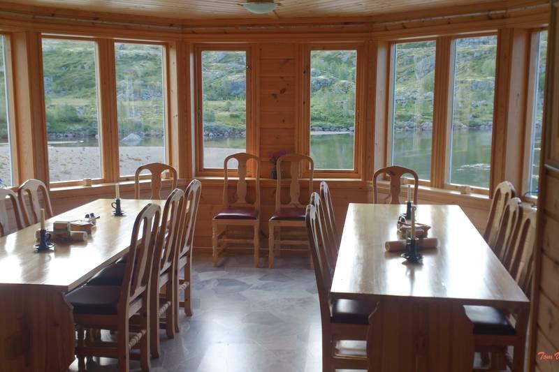 Spisesalen med utsikt