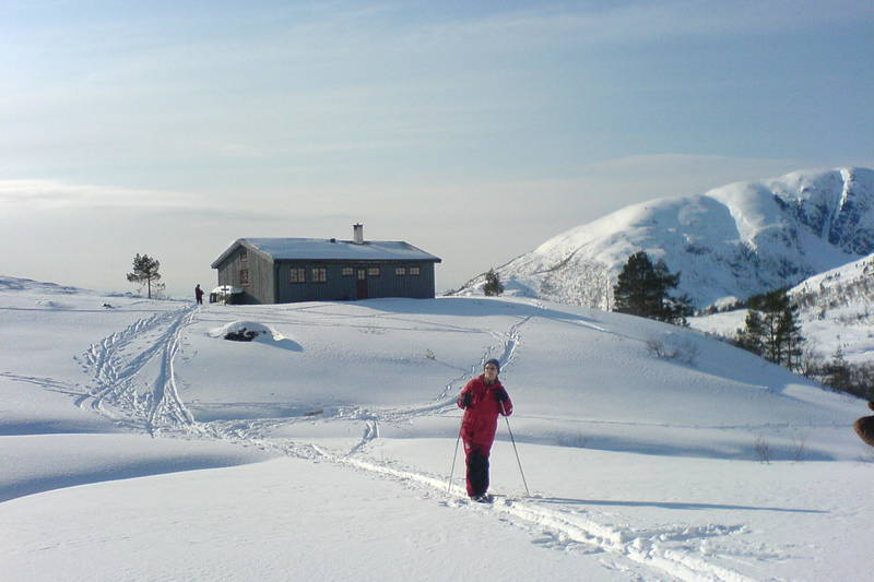 Jutulbu en vinterdag