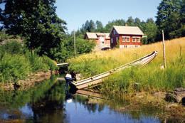Kanal ved Setern -  Foto: Aust-Agder turistforening
