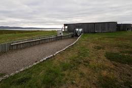 Mortensnes, museumsbygg -  Foto: Øystein Ruud