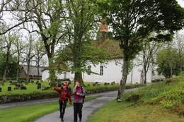Borgleden ved Skjeberg kirke -  Foto: Jan Thorsten Engen