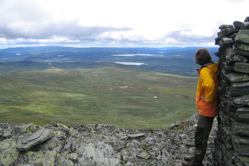 Utsikt fra Søndre Langsua