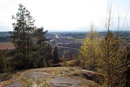 Utsikt fra Skånevetan - Foto: Ukjent
