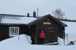 Gaundalen Fjellgård vinter 2012 -  Foto: Happy Campers/glade-vandrarar.blogspot.no