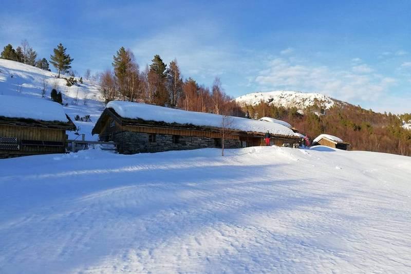 Vinter på Sollia