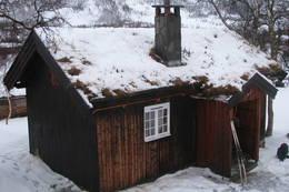 Vinterkvarteret på Vangshaugen i Nordmøre, januar 2013<br /> - Foto: Birger Blomvik