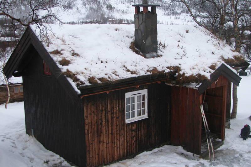 Vinterkvarteret på Vangshaugen i Nordmøre, januar 2013