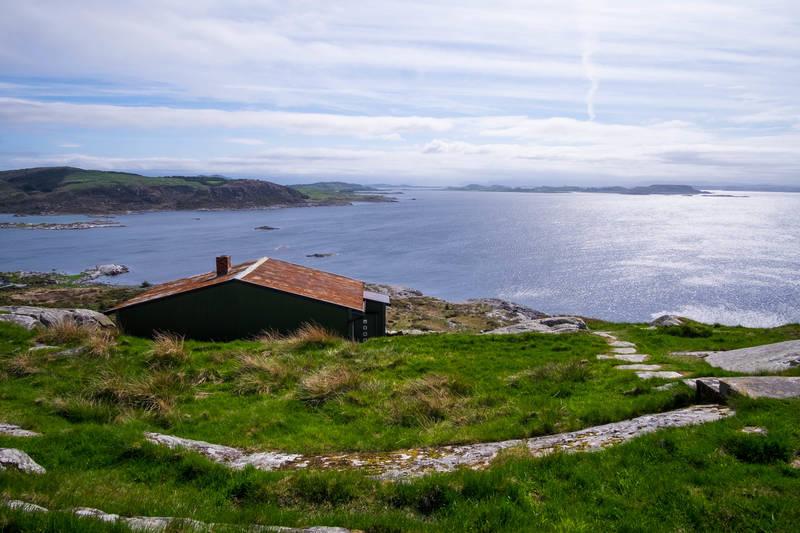 Gode solforhold på Fjøløy