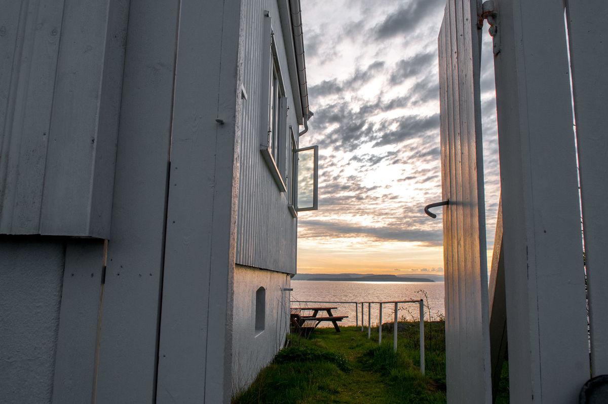 Gullholmen med utsikt til den delen av Oslofjorden som heter Breiangen.
