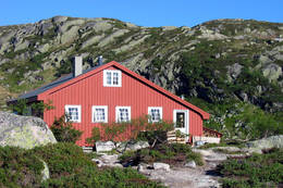 Lakkenstova - Foto: Kristiansand og Opplands Turistforening