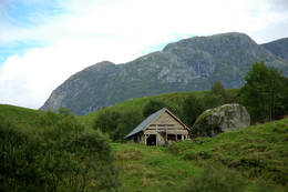 Begynnelsen av Isveien fra Sunndal - Foto: Sindre Haslene-Hox