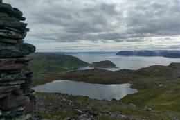 Fra toppen -  Foto: Monica B. Johansen