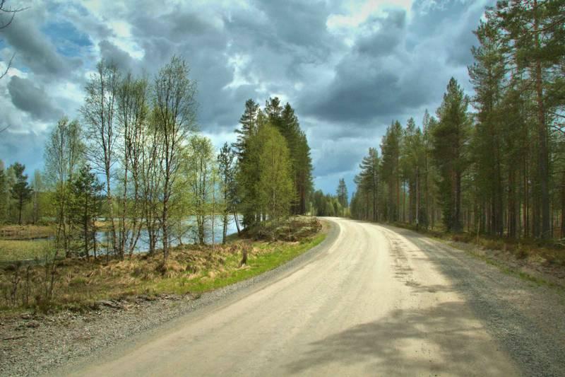 Osdalen byr på lett terreng som passer for alle syklister.
