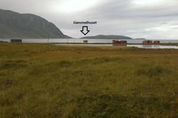 Her ligger Gammelhuset. - Foto: