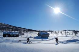 På vei fra Jøldalshytta til Vaulan - Foto: Asgeir Våg