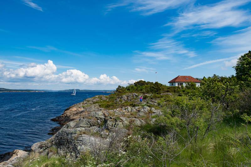 Utsikt mot Kristiansand
