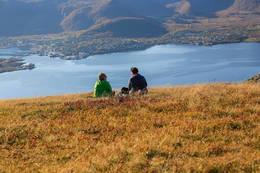 Utsikt fra toppen -  Foto: Gunnar E Nilsen