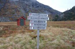 Kvanndalen er utgangspunkt for flere merkede ruter - Foto: Torgunn Skrudland