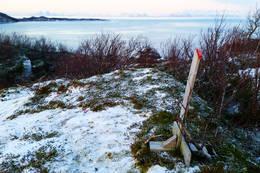 Utsikt fra Kvalbakkhågen og mot Vestfjorden -  Foto: Kjell Fredriksen