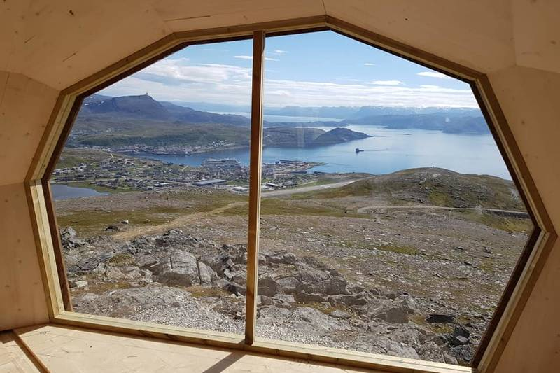 Utsikten mot Hammerfest