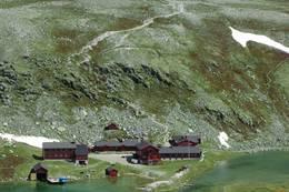 Utsikt mot Rondvassbu - Foto: DNT Oslo og Omegn