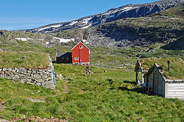 Stavali Turisthytte - Foto: Terje Rakke